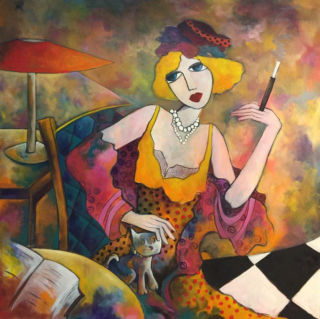 Fauve Artiste Peintre Roanne Le Bruit Qui Court En Roannais