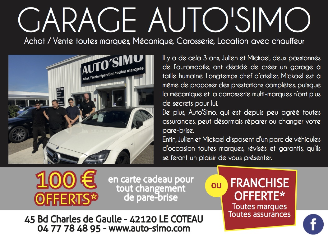 Garage auto simo le bruit qui court en roannais for Garage auto les milles